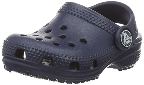 Crocs Classic Kids, Unisex - Kinder Clogs, Blau (Navy), 22/24 EU