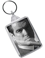 PIERCE BROSNAN - Original Art Keyring #js002