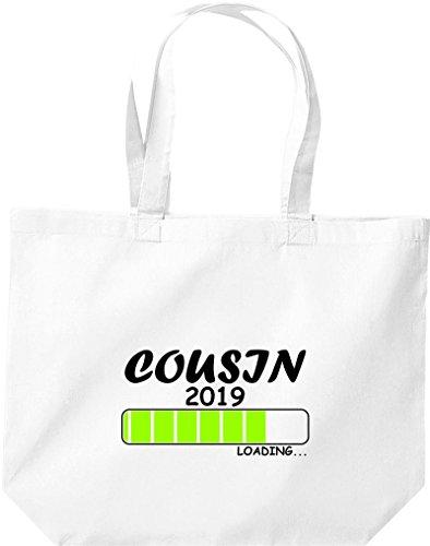 Grande Shopping Bag Shirtinstyle Caricamento Cugino 2019 Bianco