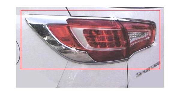 Chrom Tuning RÜckleuchten Rahmen Auto