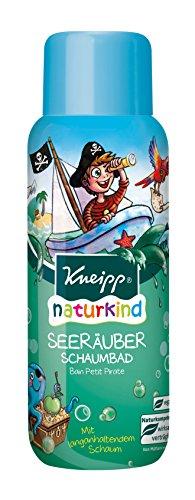 Kneipp Naturkind Schaumbad Seeräuber, 3er Pack(3 x 400 ml) - Apfel Schaumbad