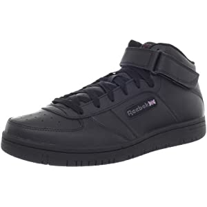 41RM0YMXY2L. SS300  - Reebok Men's Reebok Royal Reeamaze Black Midtop Sports Shoes