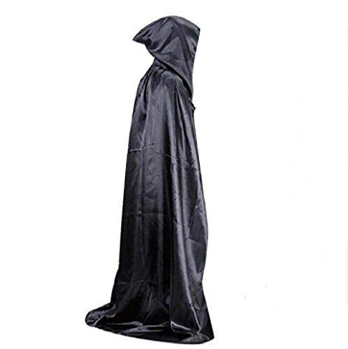 Halloween costume Sannysis Escudo Capa capucha Wicca