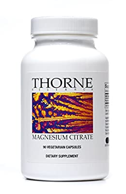 Thorne Research - Magnesium Citrate Health Supplement - 90 Capsules from Thorne Research
