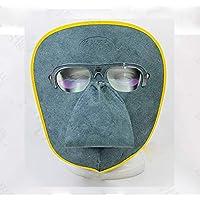 XMK Schweißkappe Schweißschutzmaske, Ledermaterial, leicht, Anti-UV-Brille, abnehmbar, Argon Bogenschweißen, Löten... preisvergleich bei billige-tabletten.eu