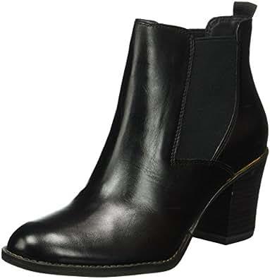 tamaris women 39 s 25065 chelsea boots black schwarz black. Black Bedroom Furniture Sets. Home Design Ideas