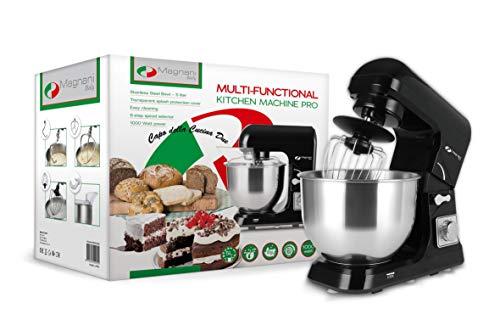 MAGNANI Robot Patissier | Robot Cuisine Multifonctions | Batteur Electrique Cuisine | Petrisseur de...