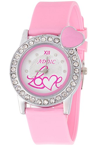 Addic Analogue Soft Strap White Dial Watch for Women, Girls – AddicLove1