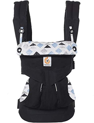 Ergobaby Babydraagzak 360 Sunrise Triple Triangles Ergobaby Made of 100 percent cotton and machine washable It has four comfortable and ergonomic ways to wear baby Provides maximum comfort for parents 4