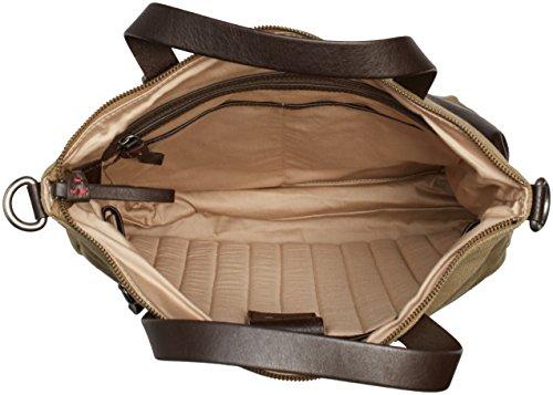 Cinque Alberto Shopper 40074 4786 C18 Herren Henkeltaschen 40x42x10 cm (B x H x T) Braun (khaki 4786 4786)