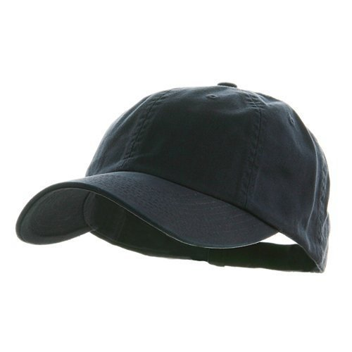 Low Profile DYED Cotton Twill Cap-navy W39S55D by MGC - Navy Twill Cap