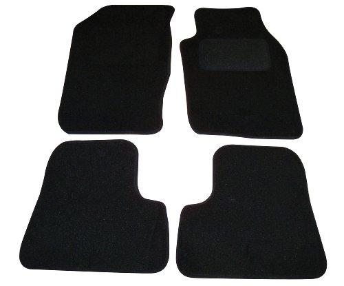 Sakura-Tappetini auto per Peugeot 206, colore: nero, si adatta a tutti i 206S