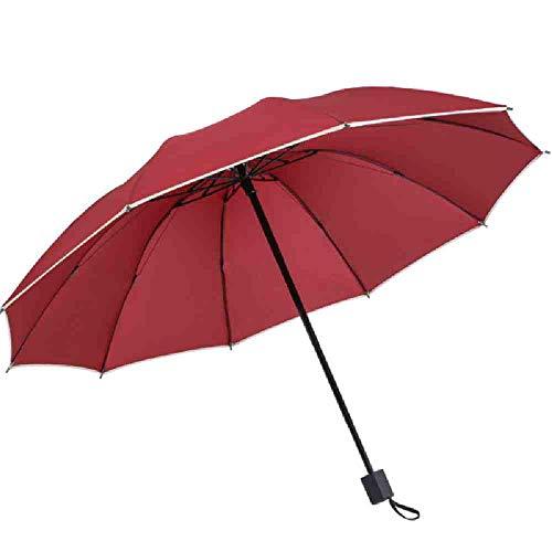 LZBDKM Venta Mayor Tres Paraguas Plegable Lluvia