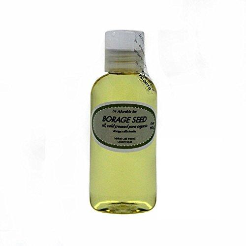 Organic Pure Carrier Oils Cold Pressed 4 oz (Borage Oil)