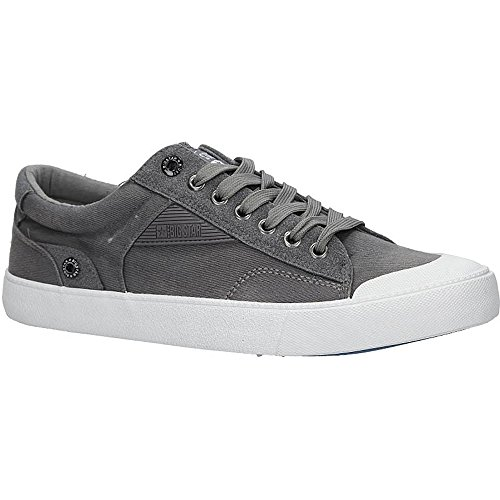 Big Star Aa174300 Sneaker | Bequeme Sportschuhe für Herren | Low Top Turnschuh Synthetik Sport Schuhe EUR 40-45 - Grau - EUR 40 Big Star Schuhe