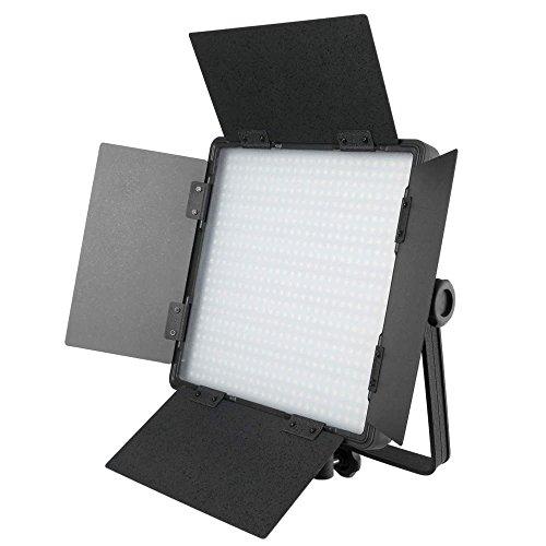 Cablematic LED-Panel 600 3200K 5400K 36W kontinuierlich mit Visiere (Studio-beleuchtung Kontinuierliche)
