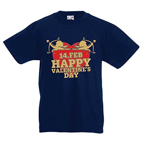 Kinder T-Shirt Nette Valentinstag Geschenkideen, Lassen Sie Amors Pfeil Finden Sie Ihren Liebsten (3-4 Years Dunkelblau - Bedeutung In Von Halloween Die Englisch