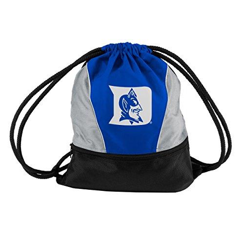 Logo Brands Collegiate Sprint-Pack mit Kordelzug auf der Rückseite, mit Fronttasche mit Reißverschluss, Unisex-Erwachsene, königsblau, Small -