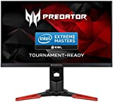 Acer Predator XB271HUAbmiprz 27-Inch Wide ZeroFrame WQHD LED Gaming Monitor with Foot Stand - Black/Red
