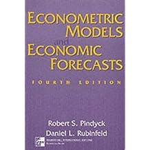 Econometric Models and Economic Forecasts, w. Diskette