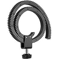 Neewer–Objetivo de Follow Focus Lenses/HDSLR Follow Focus Gear Ring Belt para DSLR y ajustable con un diámetro de 65–105mm