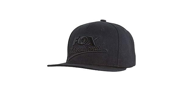 Kopfbekleidung Angelsport Fox Black Camo Snapback Cap CPR983 Baseballcap Cappie Schirmmütze Mütze Cap