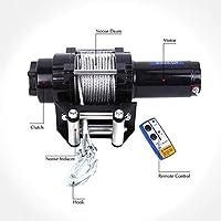 Cabrestante Eléctrico, Cabrestante de 12v con Interruptor Remoto Cable de Derivación de 4 vías de