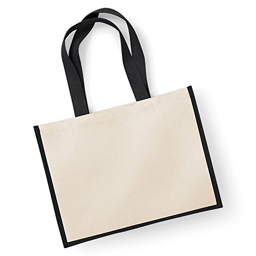 westford-mill-stampanti-laminato-juta-classic-shopper-in-cotone-manici-lunghezza-manico-60-cm-black-