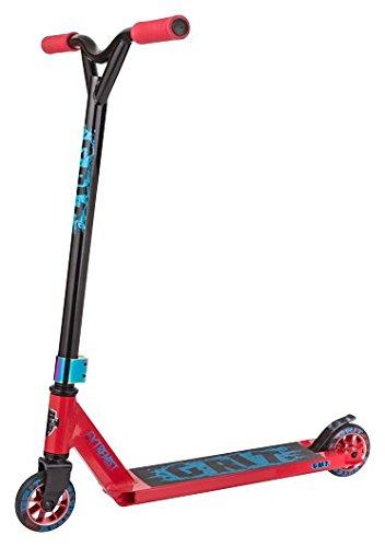 Grit Extremist Pro Stunt-Roller, verschiedene Farben, Kinder, rot / schwarz, Deck: 100mm x 483mm - Bar: 510mm Wide x 530mm High -