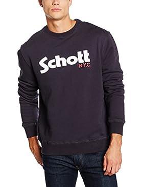 Schott Swcrew, Felpa Uomo