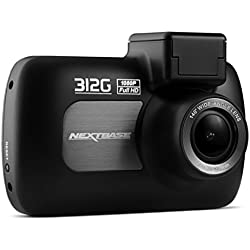 Nextbase 312G - Full 1080p HD In-Car Dash Camera DVR - 140° Viewing Angle - Black