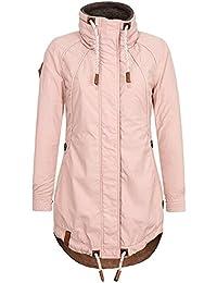 NAKETANO Zebratwist Jacke für Damen Lila