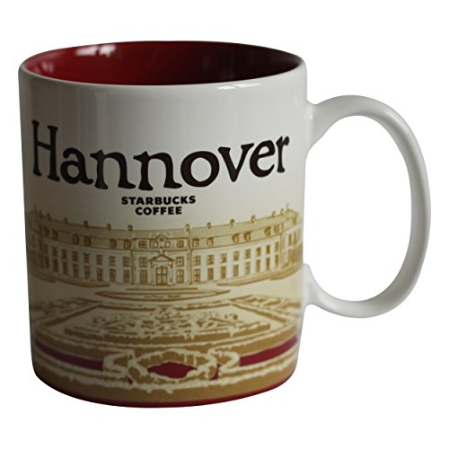 Starbucks City Mug Hannover Germany Coffee Cup Hannover Stadt Tasse Pott