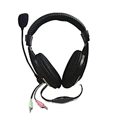 Zebronics H-100HM Headphone with Mic