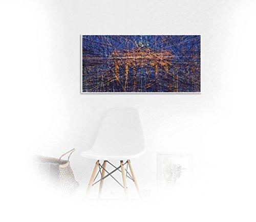 Bach in Berlin, Brandenburger _ Fine Art Fotoabzug - 90 x 45 cm ungerahmt, Kunst, Poster, Plakat, Artwork, Fotografie, Grafik, Einrichtung, Interieur, Geschenk, SKU 100118 -