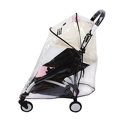 Universale passeggino parapioggia impermeabile ombrello carrozzina Wind Dust Shield copertura per passeggini, materiale EVA Weather Shield Stroller for Baby Rain Protection