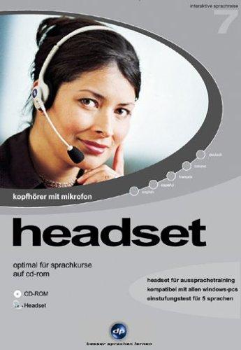 Interaktive Sprachreise V7: Headset mit Einstufungstest