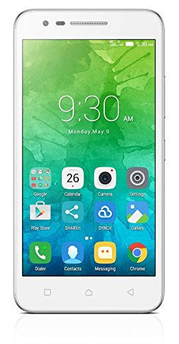 Lenovo C2 Smartphone (12,7 cm (5 Zoll), 8 GB, Android) [Französische Version] weiß