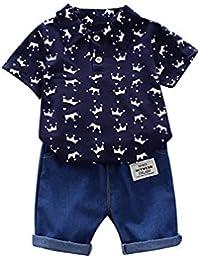 be0c62103ec67 Amazon.fr   Bleu - Ensembles   Bébé garçon 0-24m   Vêtements