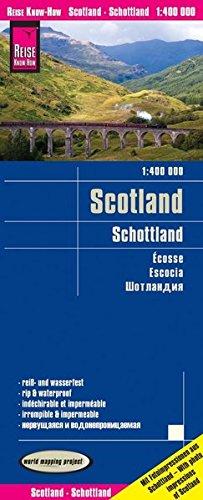 Reise Know-How Landkarte Schottland (1:400.000): world mapping project, reiß- und wasserfest (Mapping-stift)