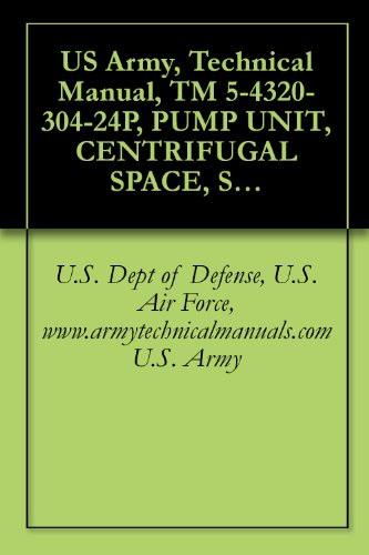 Drive Medical Pump (US Army, Technical Manual, TM 5-4320-304-24P, PUMP UNIT, CENTRIFUGAL SPACE, SELF-PRIMING, 125 GRM, CLASS 3, DIESEL DRIVE, (NSN 4320-01-190-0417), {TM 08922A-24P/2}, ... manauals, special forces (English Edition))