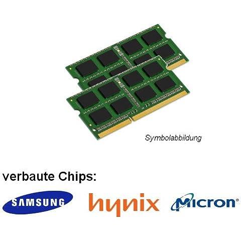 8GB Dual Channel kit (2x 4GB) para Dell Vostro 3558–Intel Core i3/i5DDR3SO-DIMM (PC3L 12800S) DIMM Memoria de