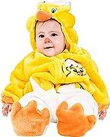 ffb60dfe5f26 Costume di Carnevale da Dolce Pulcino Vestito per Neonato Bambino 3-12 Mesi  Travestimento Veneziano Halloween Cosplay Festa Party 88083 Taglia 6-9