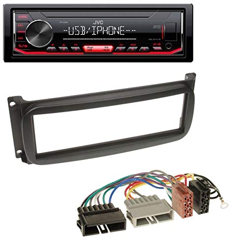 caraudio24 JVC KD-X262 1DIN MP3 USB AUX Autoradio für Chrysler Grand Voyager Neon PT Cruiser Sebring Jeep Cherokee