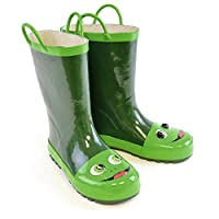 Socks Uwear Unisex-Child Novelty 3D Frog Wellington Boots