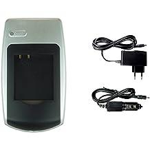 Cargador CGA-S005 para Panasonic Lumix DMC-FX180, LX1, LX2, LX3, LX9 / DMW-BCC12