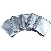 Paquete De 5 Supervivencia en Emergencias Manta carpa de aluminio a prueba de Solar Térmica Agua