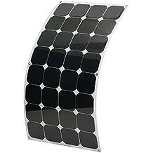 Panel Solar 100W 18V MOHOO® SUNPOWER semi-flexible panel fotovoltaico de alta eficiencia 22% de transformación IP67 MC4 protección Con Sea