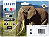 Epson 24XL Series Elephant Multipack Ink Cartridge