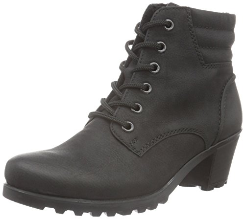Rieker Damen Y8023 Kurzschaft Stiefel, schwarz / 01), 40 EU